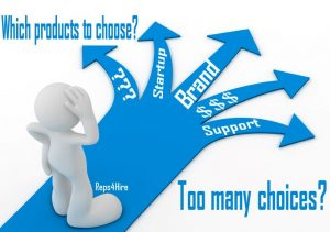Manufacturer Reps - Choosing Products and Manufacturers to work with